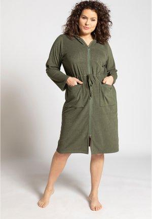 Dressing gown - olivgrün