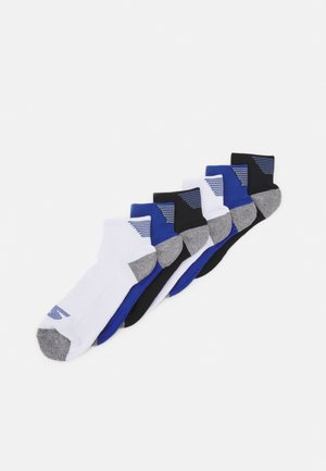 MENS PERFORMANCE QUARTER 6 PACK - Sports socks - classic blue mix