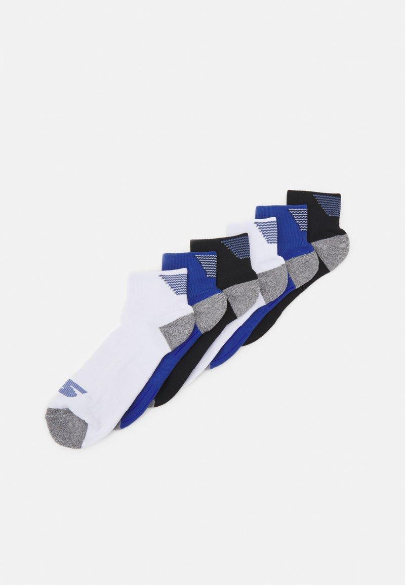 Skechers Performance - MENS PERFORMANCE QUARTER 6 PACK - Sports socks - classic blue mix