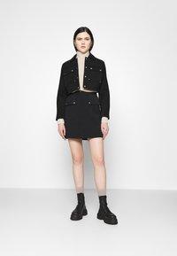 Vero Moda - VMSIGRID SKIRT - Mini skirt - black - 1