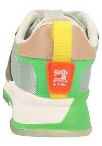 Scotch & Soda - Sneakers laag - green/cream multi s - 2