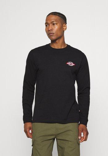 RUSTON TEE - Long sleeved top - black