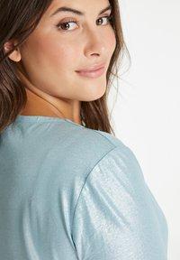 Samoon - Basic T-shirt - cameo blue - 1