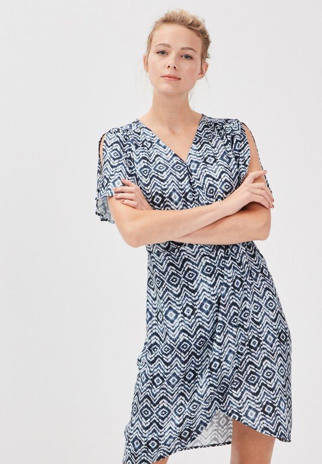 Korte jurk - bleu