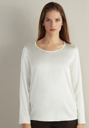 Long sleeved top - panna