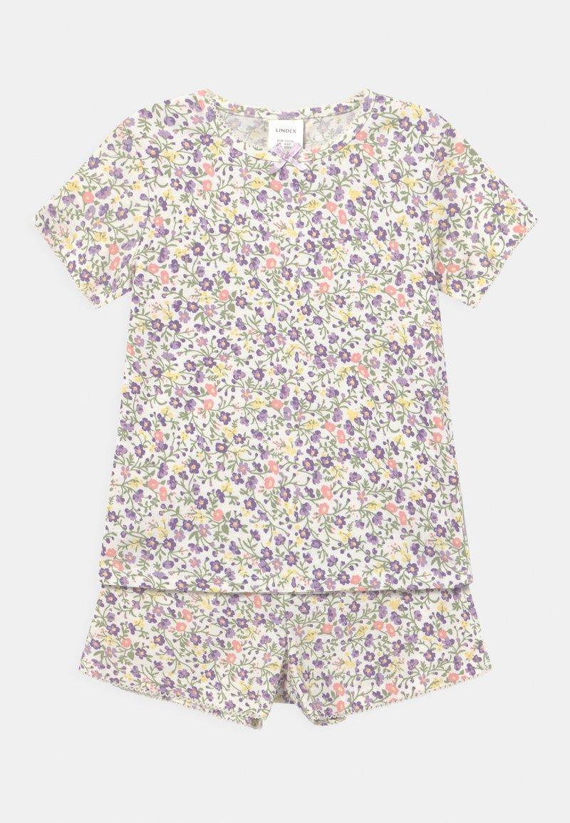 Lindex - FLOWERS - Pyžamová sada - light pink