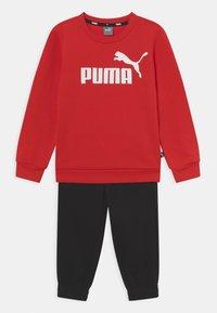 Puma - LOGO SUIT SET UNISEX - Chándal - high risk red - 0