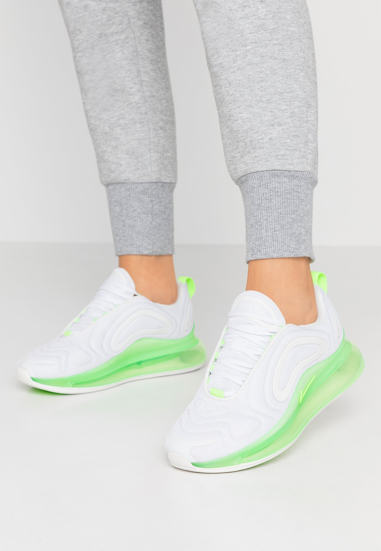 AIR MAX - Sneakers laag - phantom/summit white/electric green