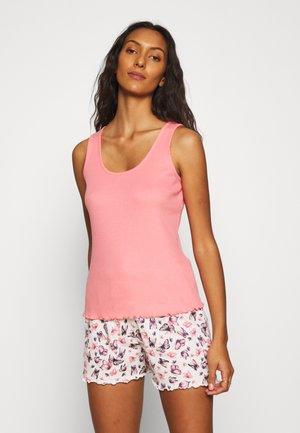 BUTTERFLY VEST SHORT  - Pyjama - pink