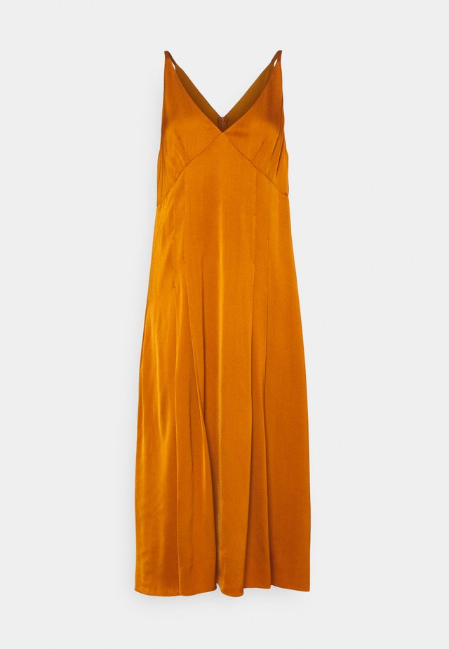 WOMENS DRESS - Sukienka koktajlowa - orange