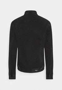 Pepe Jeans - PINNER - Jeansjacka - black denim - 1