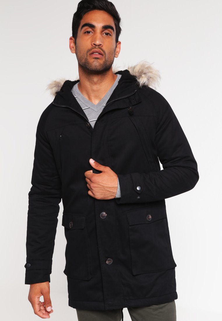 Pier One - Parka - black