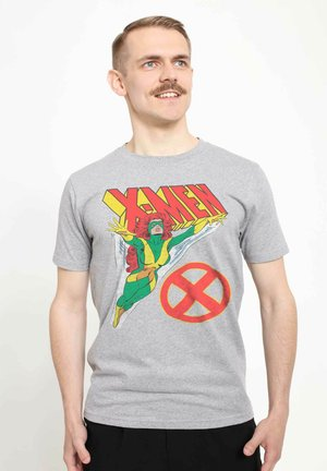 MARVEL UNISEX FLIGHT - T-shirt med print - melange grey