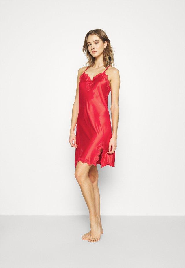 CHEMISE - Nattskjorte - red