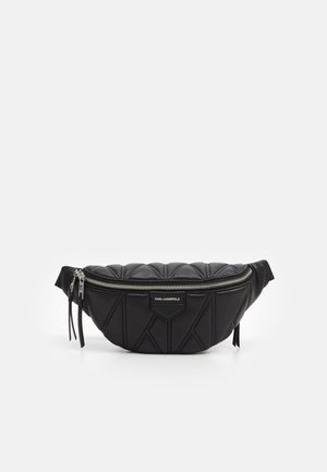 STUDIO ZIP BUMBAG - Bum bag - black/nick