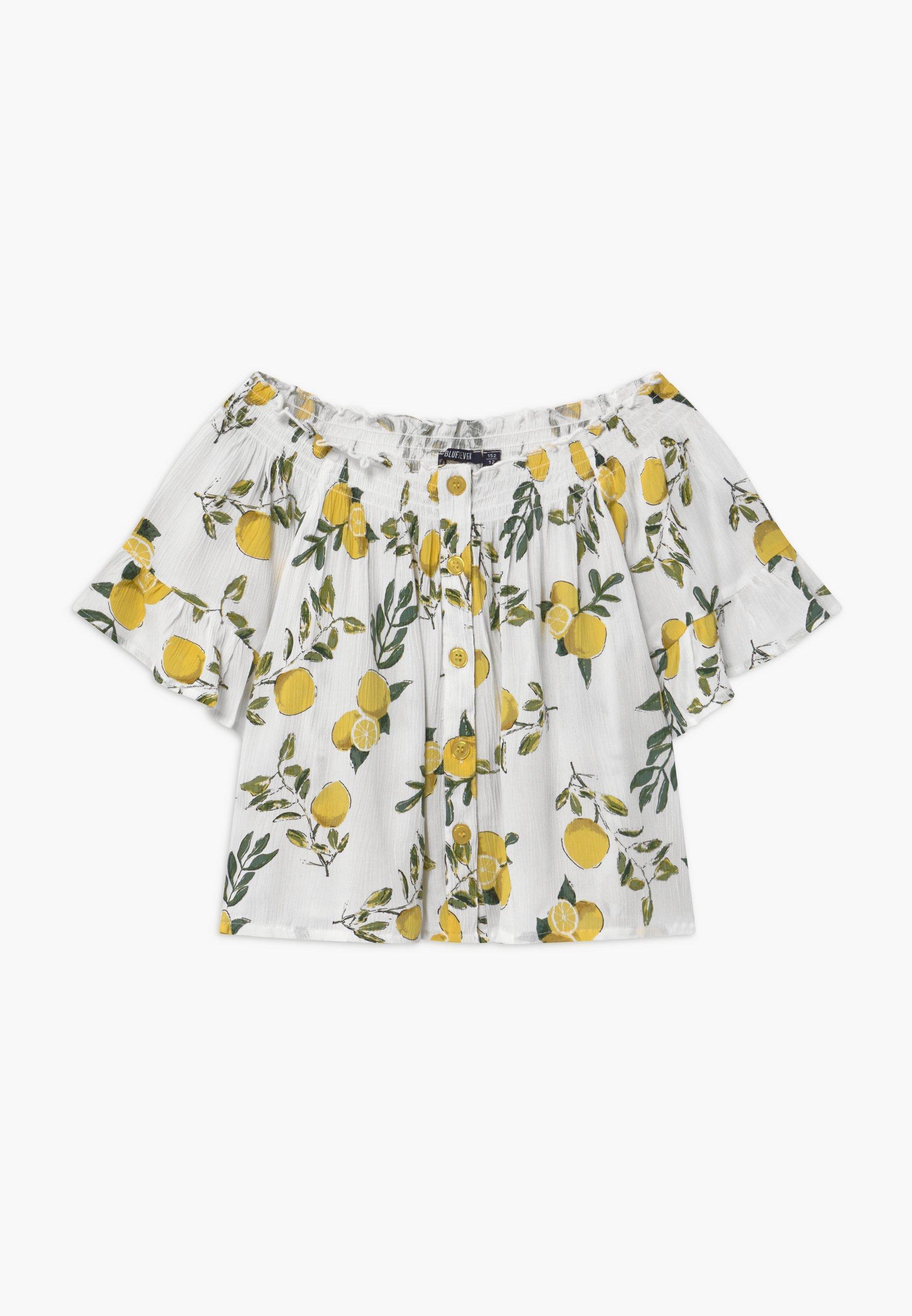 Kids TEEN GIRLS LEMON OFF SHOULDER - Print T-shirt