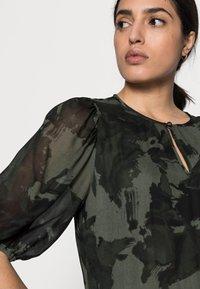 InWear - YASMEEN LONG DRESS - Maxi dress - green camouflage - 3