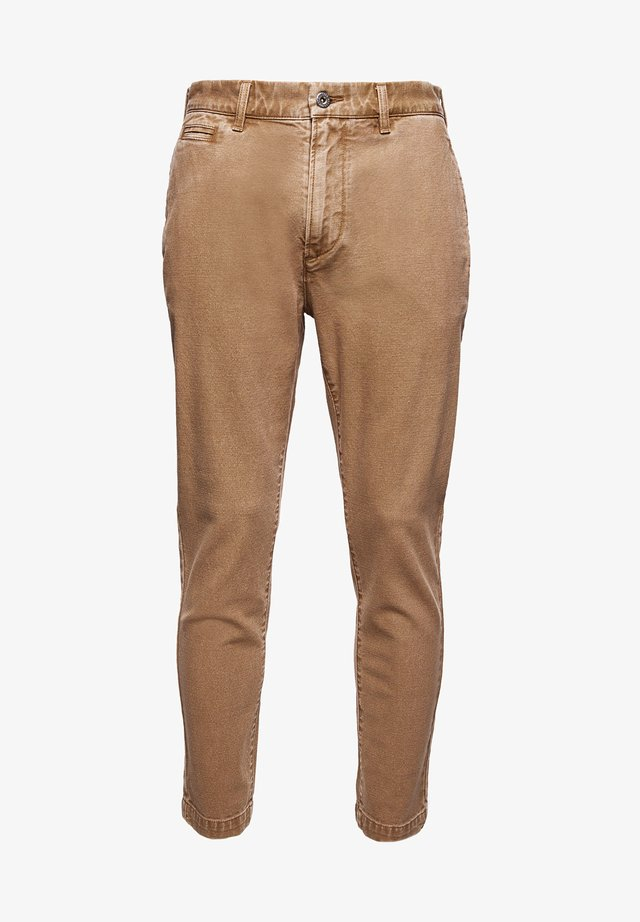 TAPER CANVAS - Chinos - malt