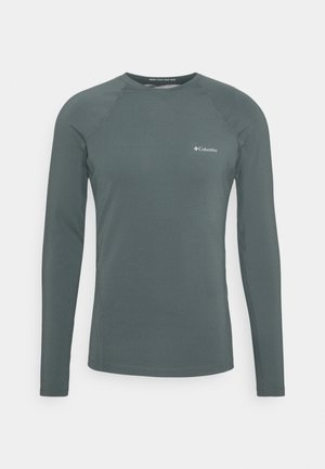 MIDWEIGHT STRETCH LONG SLEEVE - Sports shirt - graphite