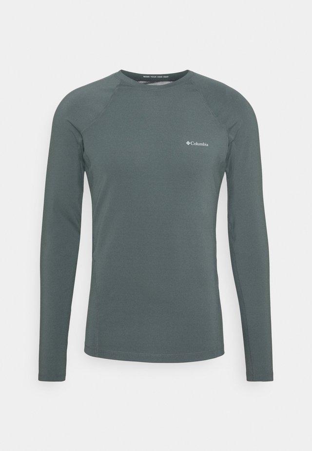 MIDWEIGHT STRETCH LONG SLEEVE - T-shirt de sport - graphite