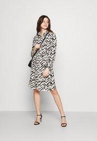 Vero Moda - VMKATHRINE SHIRT DRESS - Shirt dress - black - 1