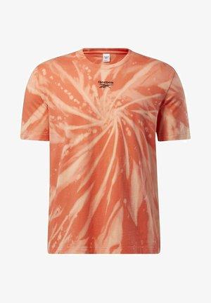 CLASSICS TIE-DYE T-SHIRT - T-shirt imprimé - orange