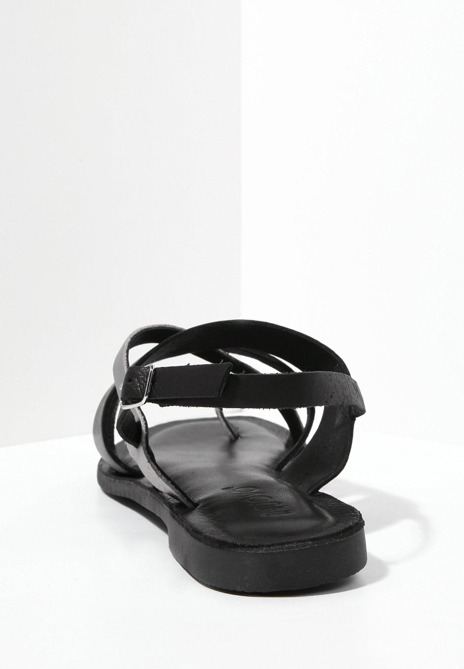Inuovo Sandales - black blk - Sandales & Nu-pieds femme Original