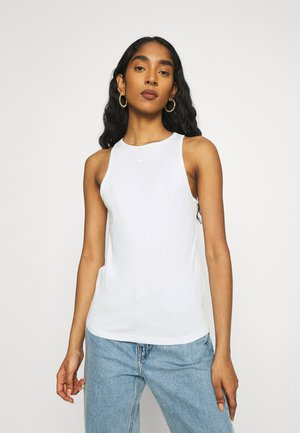 TANK  - Top - barely green/white