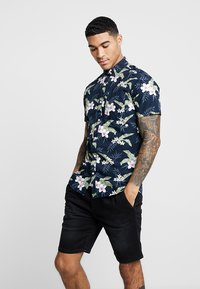 Jack & Jones - JJEJACK SLIM FIT - Skjorta - total eclipse - 0