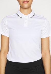 Nike Golf - DRY VICTORY - Funkční triko - white/black - 6