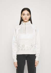 Nike Sportswear - Sweatshirt - orewood/oatmeal/metallic gold - 0