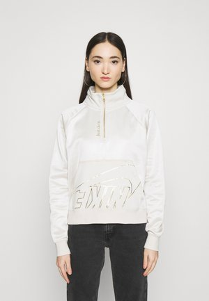 Sweatshirt - orewood/oatmeal/metallic gold