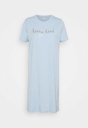 ONLEMELIE NIGHTWEAR DRESSSWEET DREAMS NIGHT DRESS - Camisón - blue fog