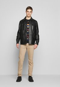 7 for all mankind - SLIMMY - Jean slim - beige - 1