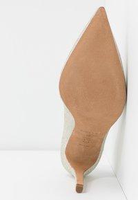 Pura Lopez - High heels - glitter platin - 6