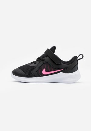 DOWNSHIFTER 10 UNISEX - Zapatillas de running neutras - black/pink glow/anthracite/white