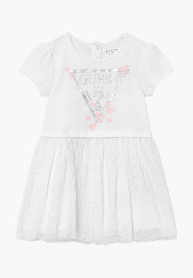 BABY - Vestito di maglina - true white