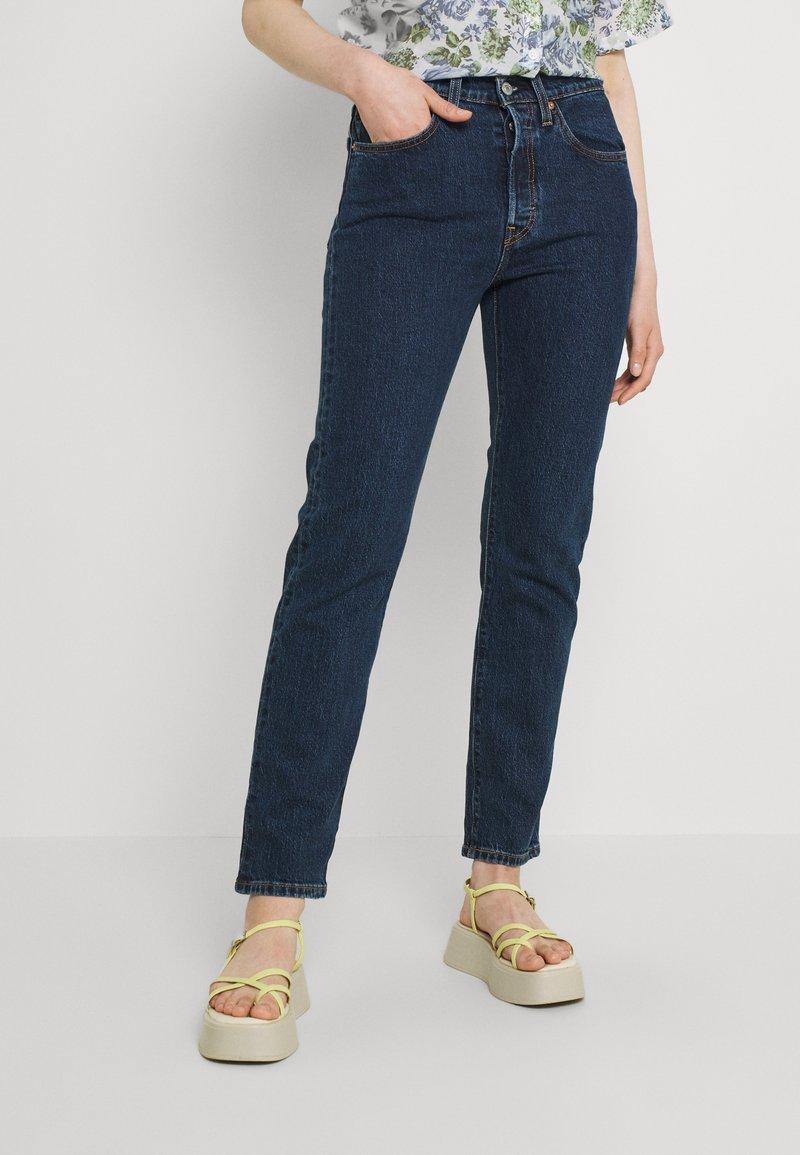 Levi's® - 501 CROP - Jeans a sigaretta - salsa stonewash