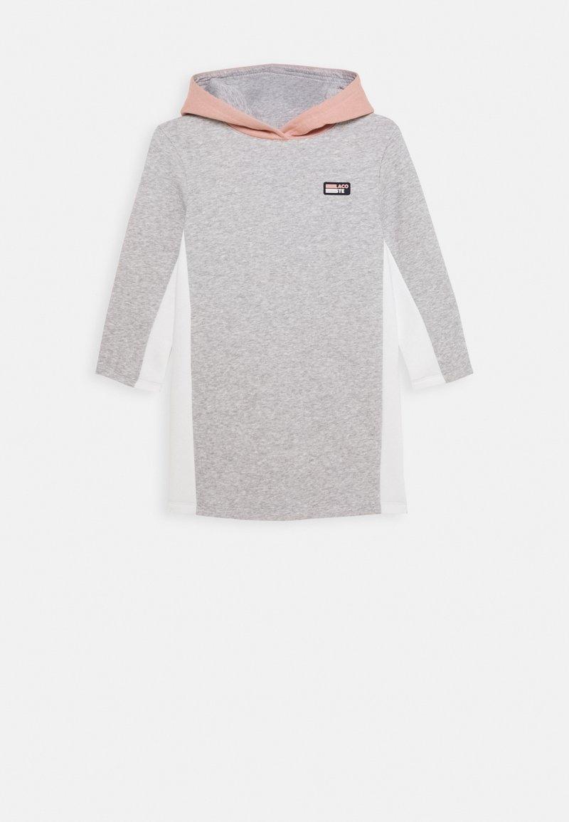 Lacoste Sport - CITY DRESS - Sportovní šaty - silver chine/alcea/flour