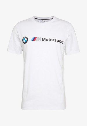 BMW MMS LOGO TEE - Print T-shirt - puma white