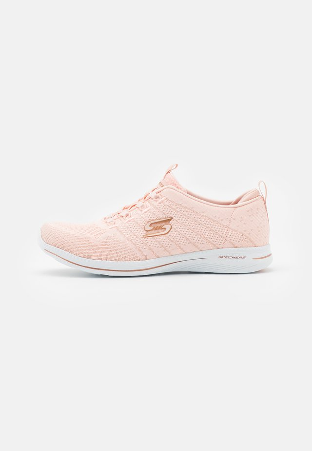 CITY PRO - Matalavartiset tennarit - light pink/rose gold/white