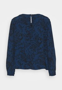 GAP Petite - WOVEN PINTUCK TEE - Blouse - blue - 6