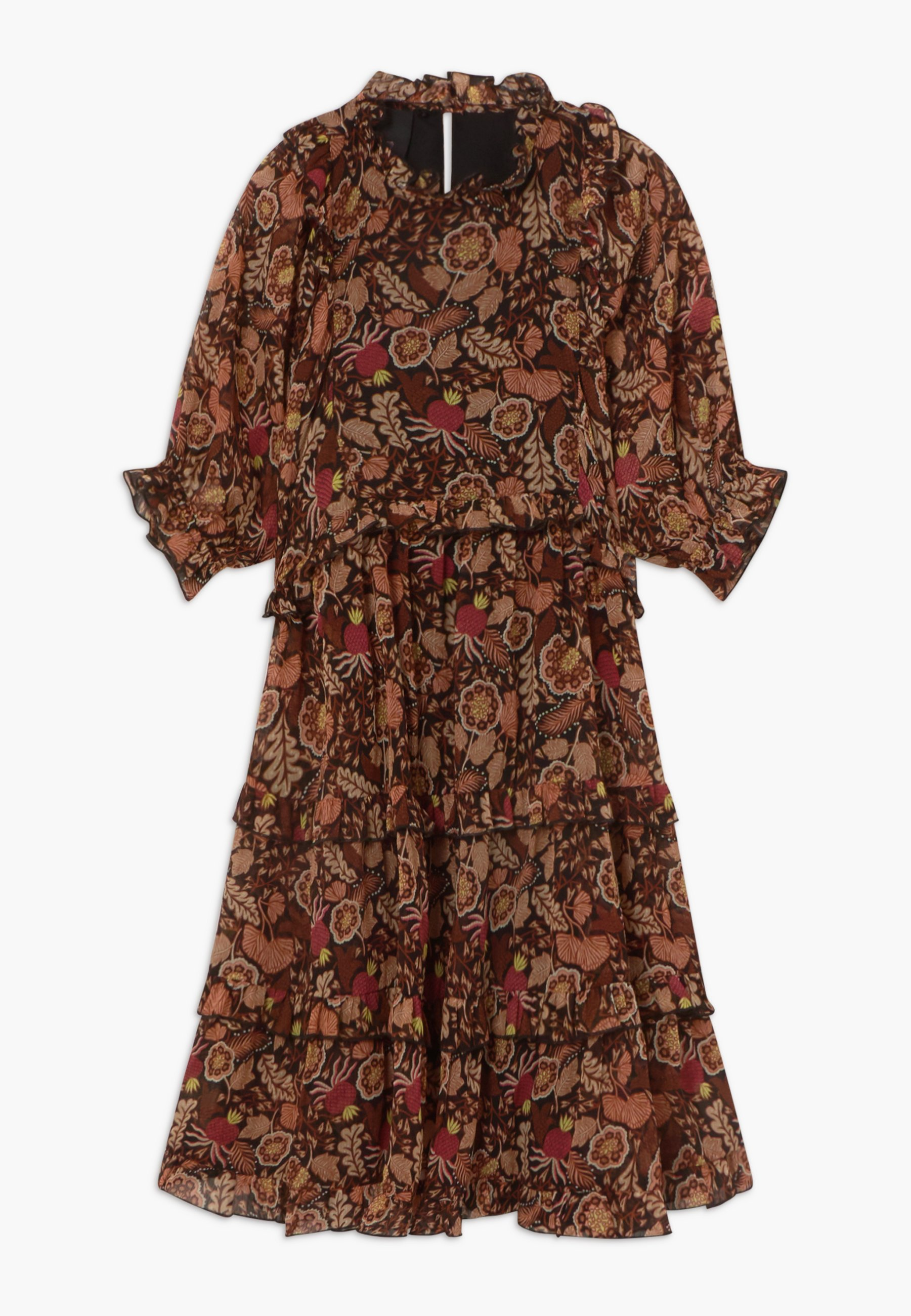 Women LENGTH DRESS WITH RUFFLES - Day dress