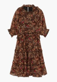 Scotch & Soda - LENGTH DRESS WITH RUFFLES - Denní šaty - combo a copper - 0
