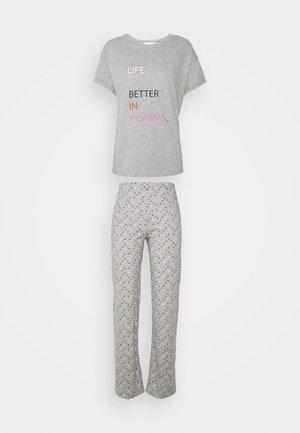 SET - Pyjama set - grey mix
