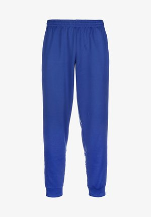 BIG TREFOIL OUTLINE TRACKSUIT BOTTOM - Tracksuit bottoms - royal blue