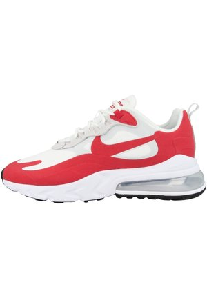 AIR MAX 270 REACT - Trainers - white-pure platinum-black-university red (cw2625-100)