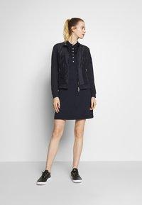 Daily Sports - SELENA CAP DRESS - Sukienka z dżerseju - navy - 1