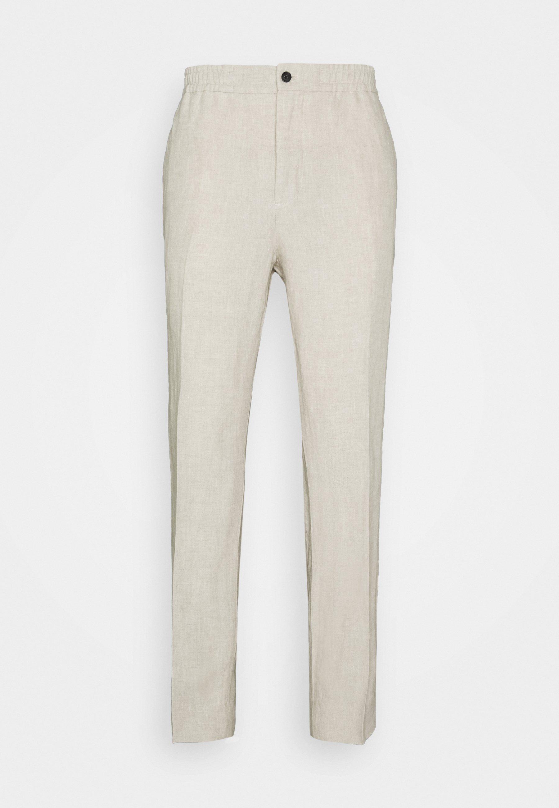 Homme SASHA DRAPE PANTS - Pantalon classique