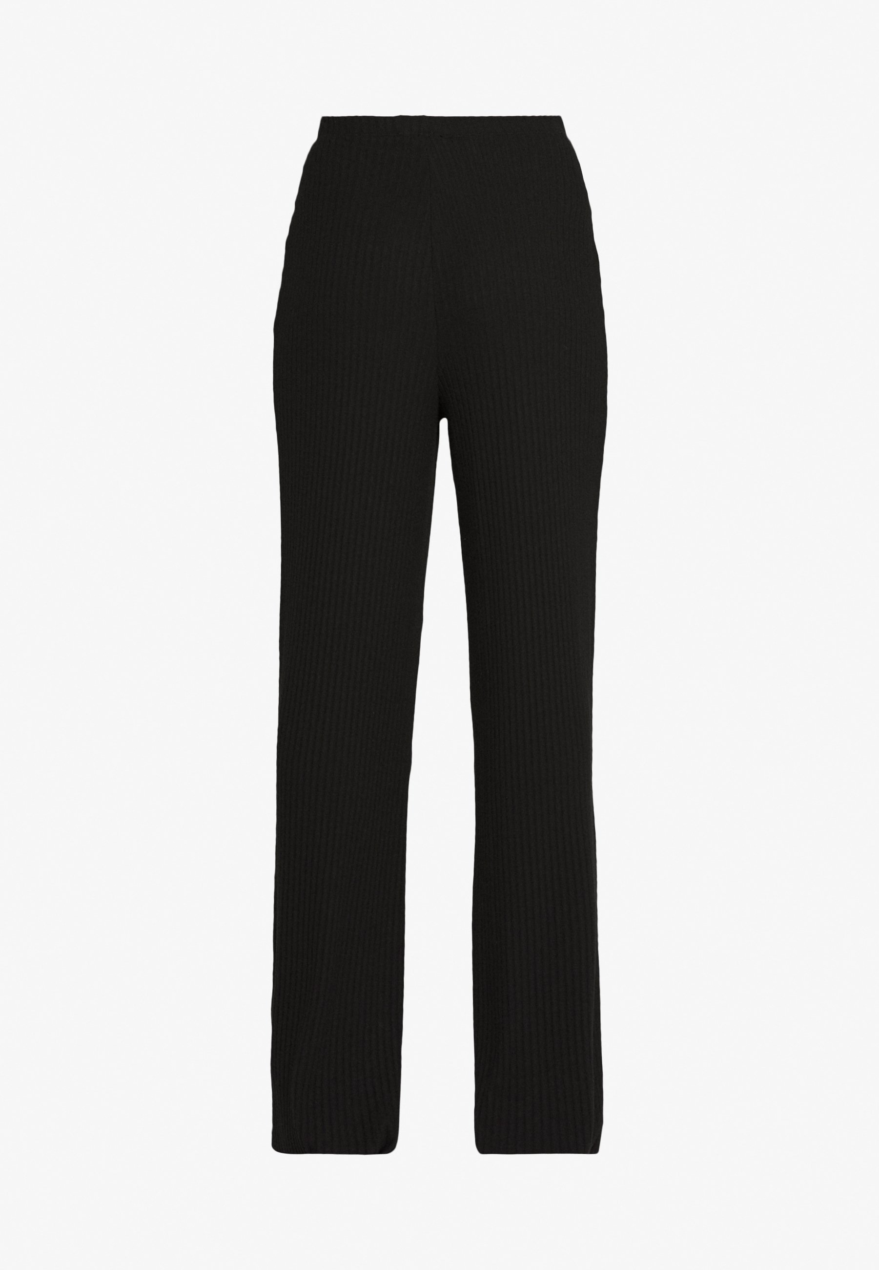 WIDE LEG TROUSER Joggebukse black